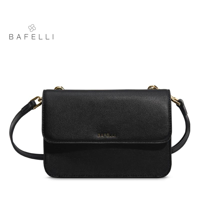 BAFELLI shoulder handbags fashion luxury china mini flap crossbody bag red  black hot sale bolsa feminina women s messenger bag-in Shoulder Bags from  Luggage ... 6c748db58d