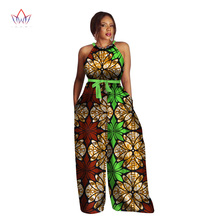 RICHE BAZIN African Print Women Jumpsuit sleeveless large size jumpsuit pants Dashiki new style clothing WY2453