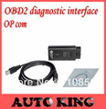 with PIC18F458 chip !!! Best quality ! v1.59 OBD2 Op-com / Op Com / Opcom/for opel scan tool Free Shipping with 3 Year Warranty