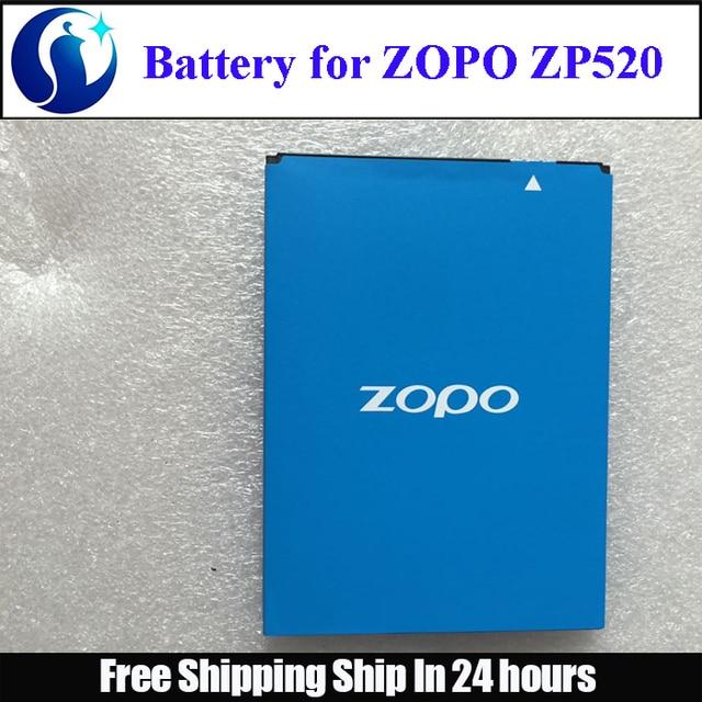 Original ZOPO ZP520 2400mah Battery Li-ion replacement Zopo c5 battery for ZOPO ZP520 Zopo ZP520+ Battery android phone