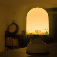 Portable Automatic motion sensor light rechargeable lamp night light for children bedroom living room indoor lighting