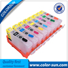 8 Colors CLI 8 CLI8 Refillable Ink Cartridges For Canon PIXMA PRO 9000 PRO9000 Printer With