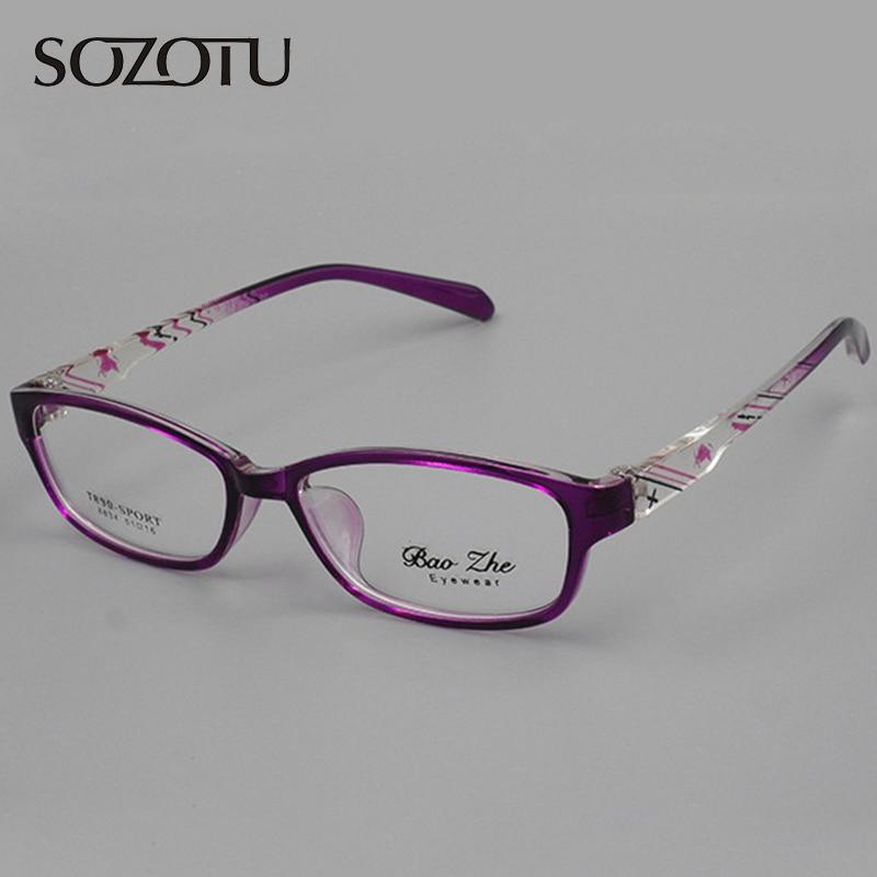 Оптични рамки за очила за жени рамка за очила Компютърни очила за прозрачни лещи за жени Armacao de YQ065