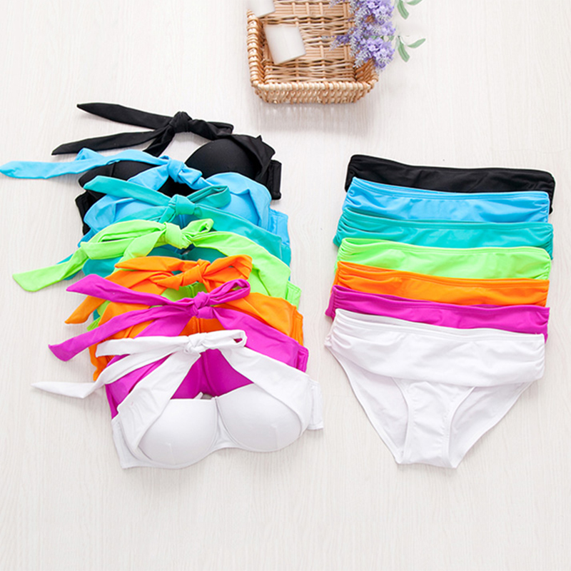 daf6742e3ac3 Offerta speciale di trasporto del bikini 2018 nuovo 7 colore del costume da  bagno delle signore sexy costumi da bagno della spiaggia di estate preferito
