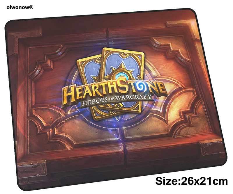 Hearthstone mousepad 26x21cm gaming mouse pad big gamer mat Cartoon game computer desk padmouse keyboard Gorgeous play mats