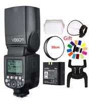 Godox Ving V860II V860II S/N/C/F/O GN60 E TTL HSS 1/8000 Li ion Battery Speedlite Flash for Sony Nikon Canon Olympus Fujifilm