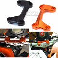 For KTM duke125 duke200 duke390 DUKE 390 200 125  Motorcycle Aluminum Handlebar Risers Top Cover Clamp Dirt Bike with