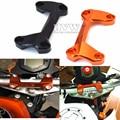 For KTM duke125 duke200 duke390 DUKE 390 200 125  Motorcycle Aluminum Handlebar Risers Top Cover Clamp Dirt Bike with