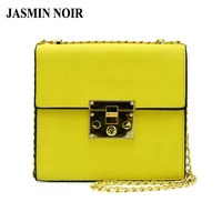 2017 Summer New Arrival Women Yellow Color Cross Body Bag Fashion Lady Small Flap Messenger Bag
