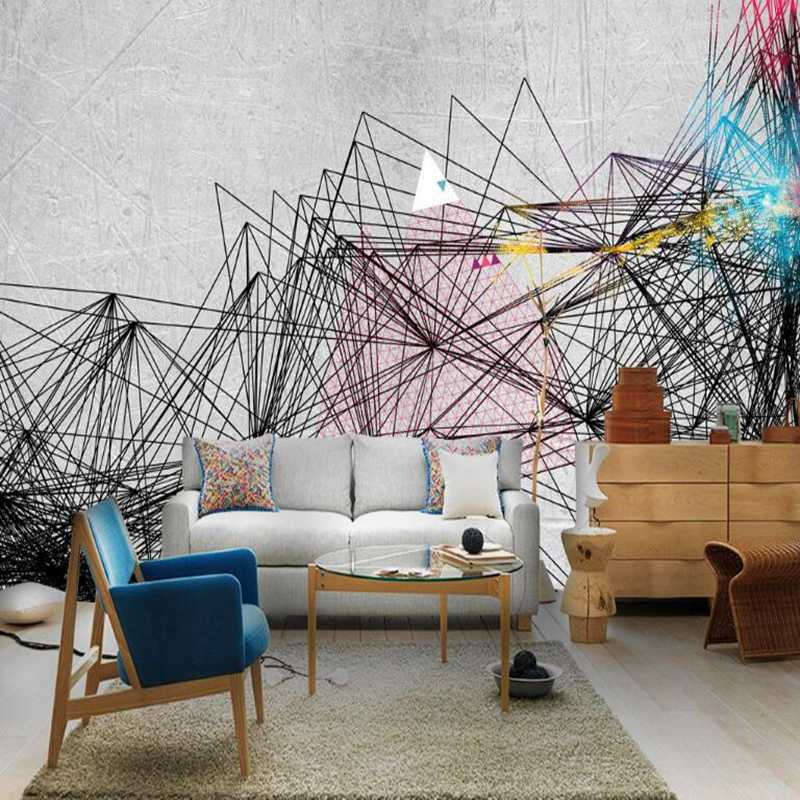 Best Wallpapers Nordic Single Apartment Personalized Home Decor Art Boys Bedroom Wallpaper 3d Wallpaper For Room Wall Kitchen Aliexpress