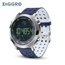 Diggro ex18 Смарт-часы Для мужчин спортивные часы 5atm Водонепроницаемый Bluetooth SmartWatch Шагомер напоминание секундомер для iOS и Android
