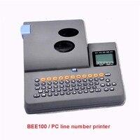 BEE100 номер строки принтер номер строки машина термоусадочные трубки принтер ПВХ корпус, термоусадочные трубки 35 мм/сек скорость печати 12 В