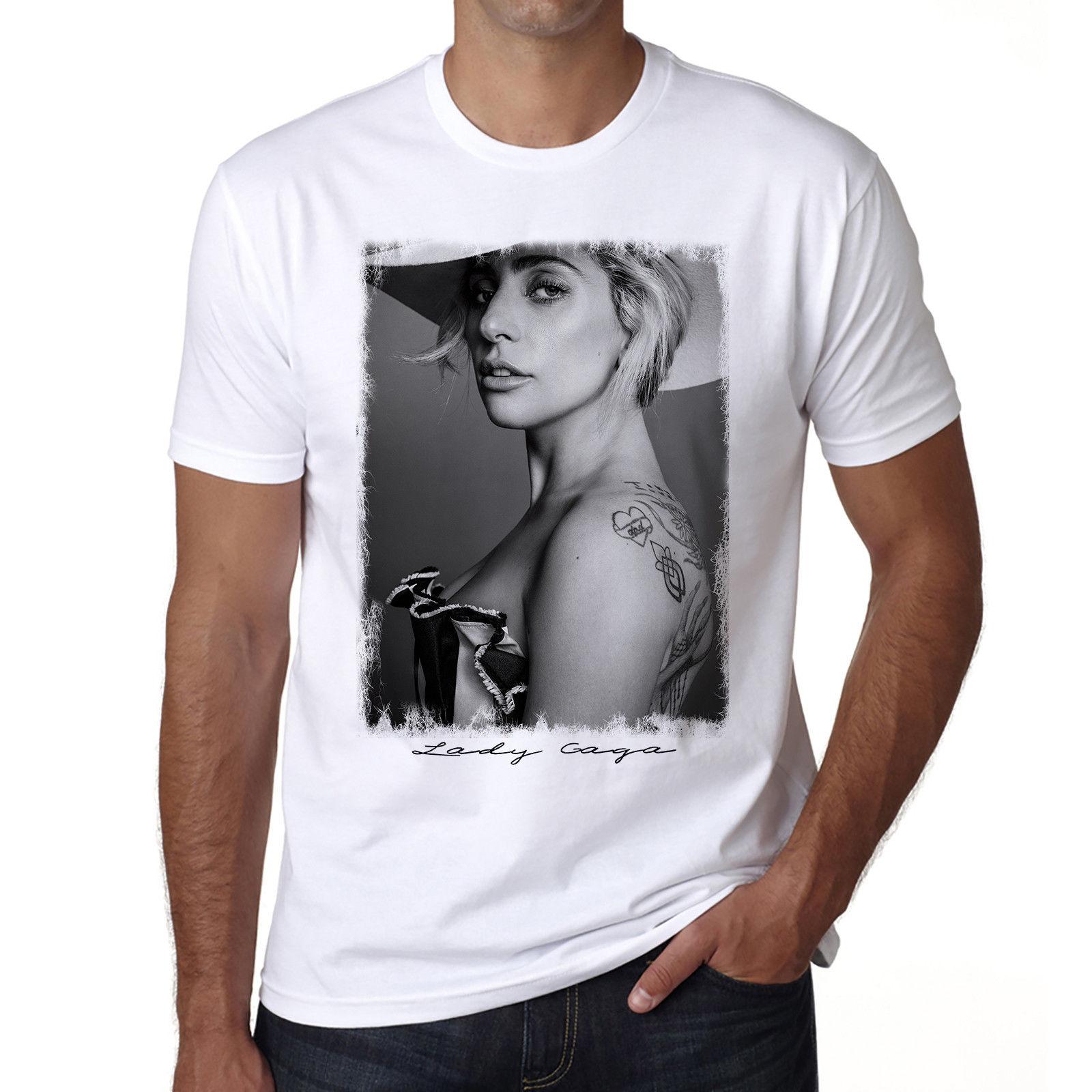 Lady Gaga 2 R, Hommes Tshirt, Cadeau ideal, Mens Tshirt, gift tshirt