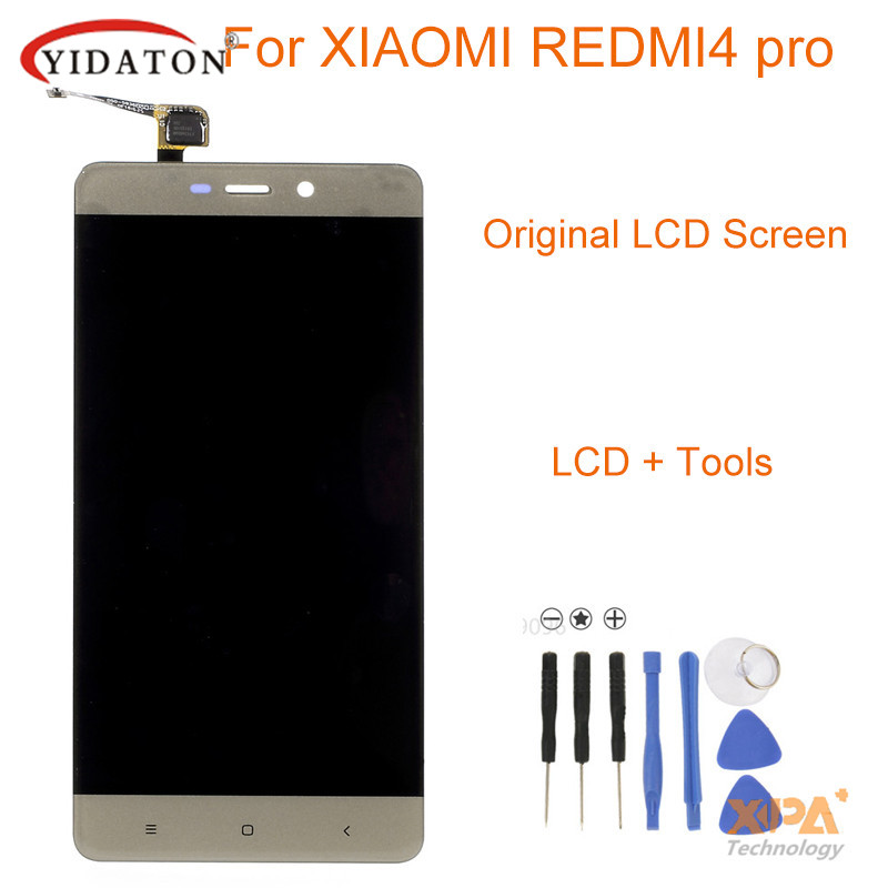 highscreen For Xiaomi Redmi 4 Pro original LCD Display and Touch Screen Digitizer Replacement Phone Assembly