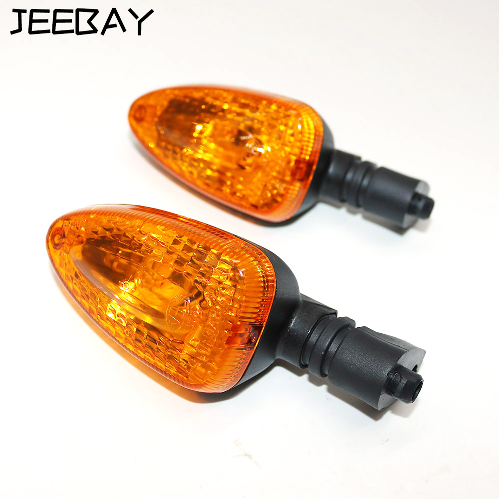 1pair Motorcycle Turn Signals Led Lamps Motorbike Blinker Turn Signal Indicator Flasher Stop Signal For BMW 650GS 800GS 1100GS