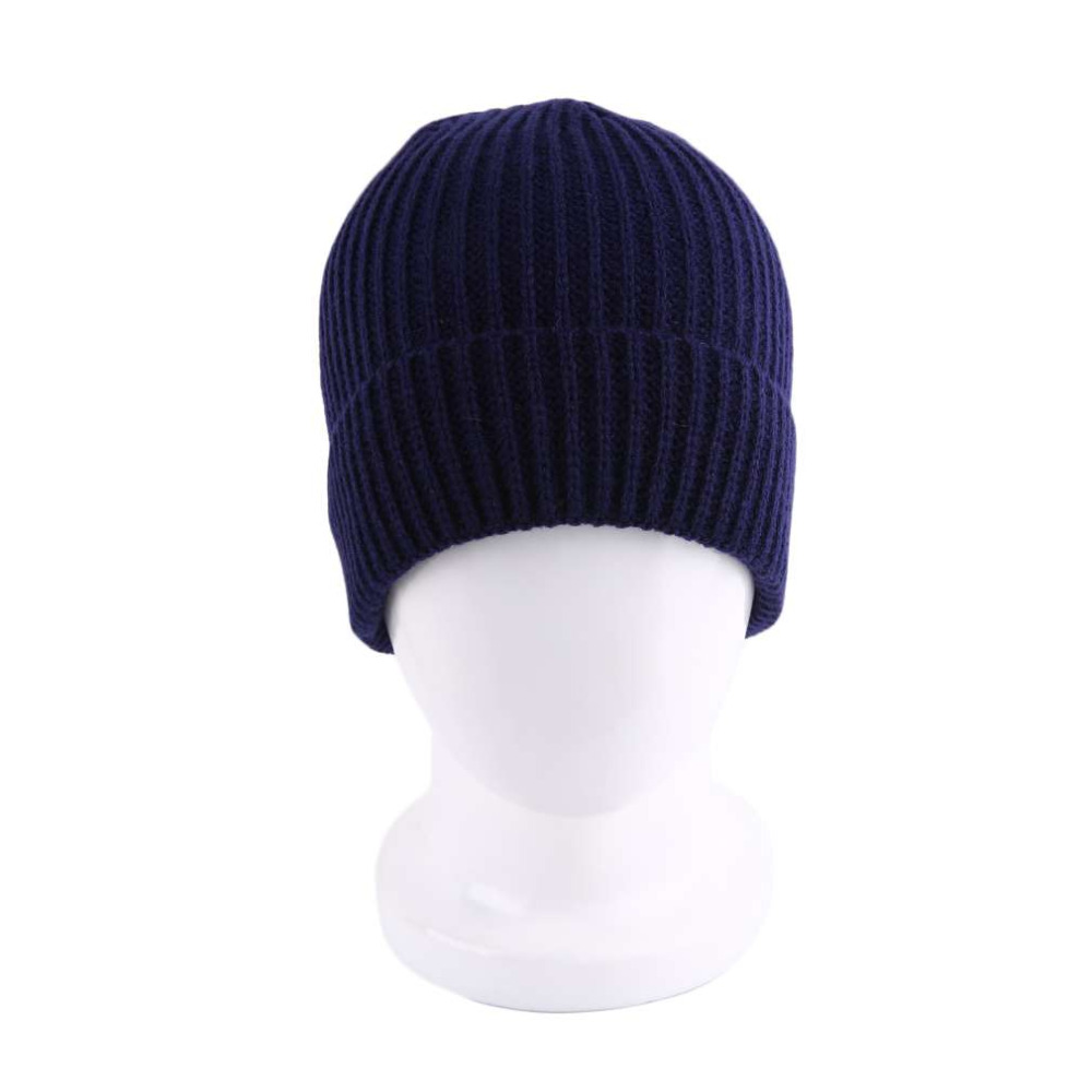 ⃝Alta calidad vintage sola capa raya diseño skullies invierno ...