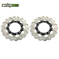 BIKINGBOY Front Brake Discs Rotors Disks YZF R6 05 16 R1 07 14 FZ8 FAZER 8 800 / ABS 10 FZ8 N S XT 1200 Z ZE SUPER TENERE 18 17
