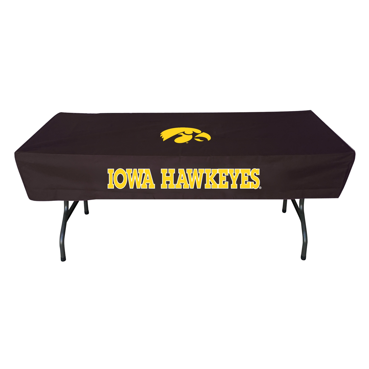 Rivalry 6 Feet Iowa Sports Collegiate Team Logo Party Outdoor Camping Table Cover кепка badboy logo team hat