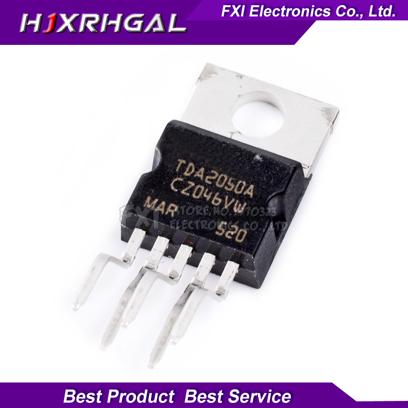 10PCS TDA2050A TDA2050 TO220-5 TO220 New Original