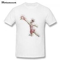 Summer Men T Shirt Woman Tennis Competition Printed Short Sleeve 100 Cotton Tees Shirt Homme Custom