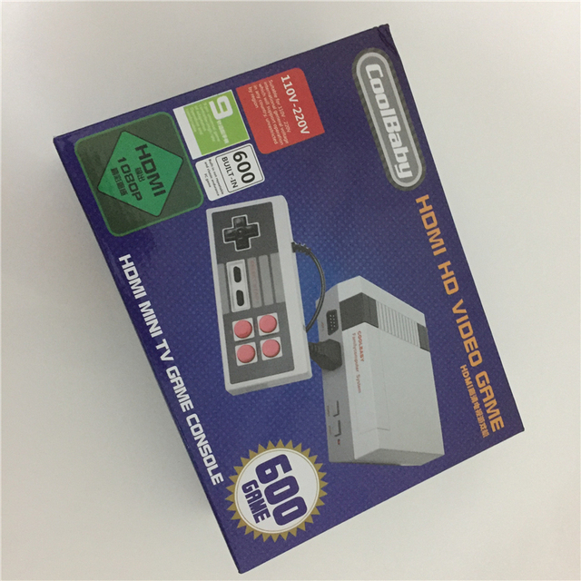 HD HDMI Out Retro Classic Handheld Game Player Family TV Video Game Console Childhood Built-in 600 Games For NES Mini HDMI