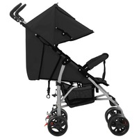 2 In 1 Folding Baby Stroller Pram Removable Awning Double Locking System Four Wheels Stroller For 0 36 Months Baby