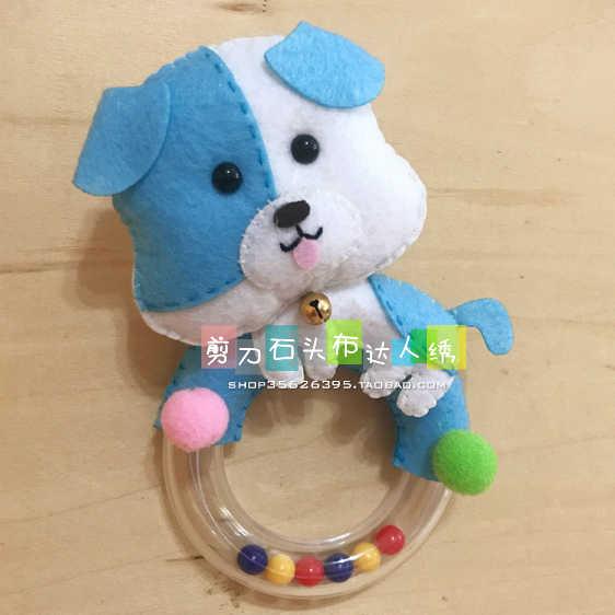 DIY передник для собаки детские руки звон ткани чувствовал комплект не тканевые Craft DIY швейный набор ручной работы Материал DIY рукоделие поставки