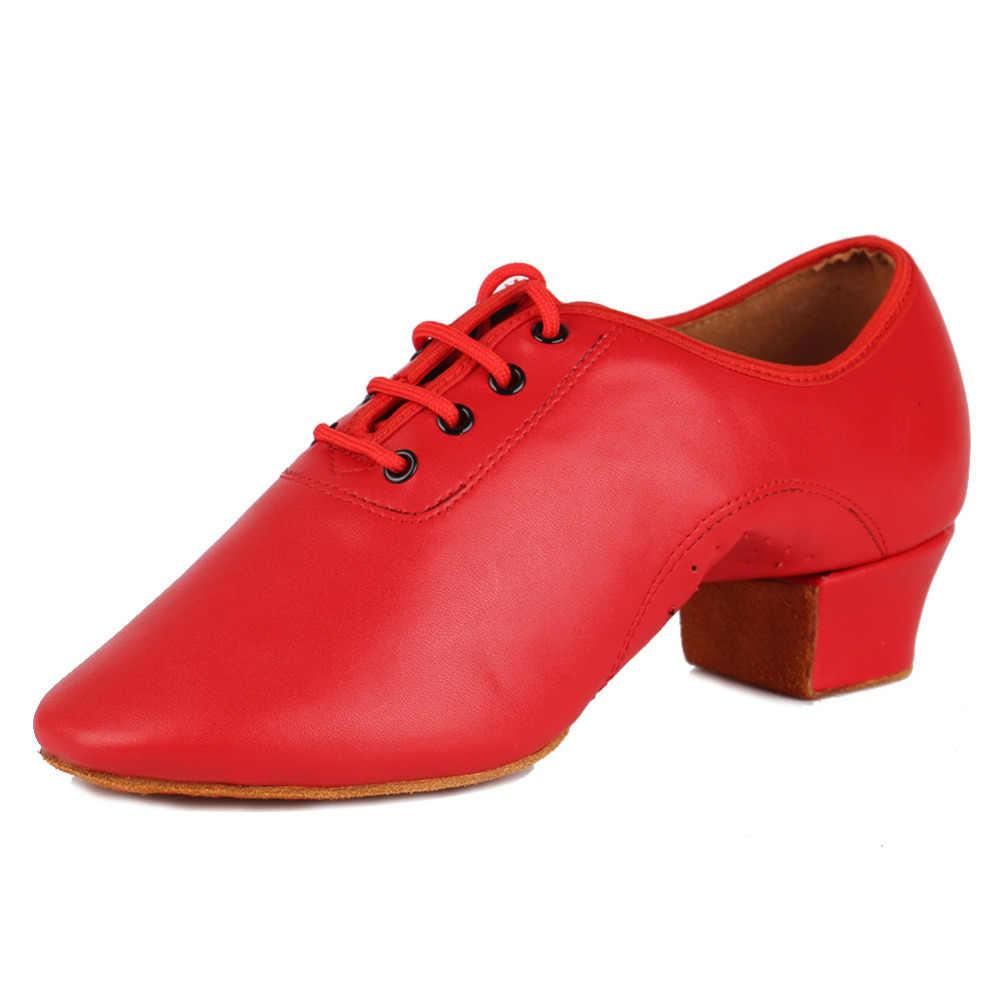 Thương Hiệu Mới Nhảy Latin Giày Người Đàn Ông Hiện Đại Nam Bóng Tango Nhảy Latin Giày Múa Giày Sneaker Jazz Giày 3 Màu