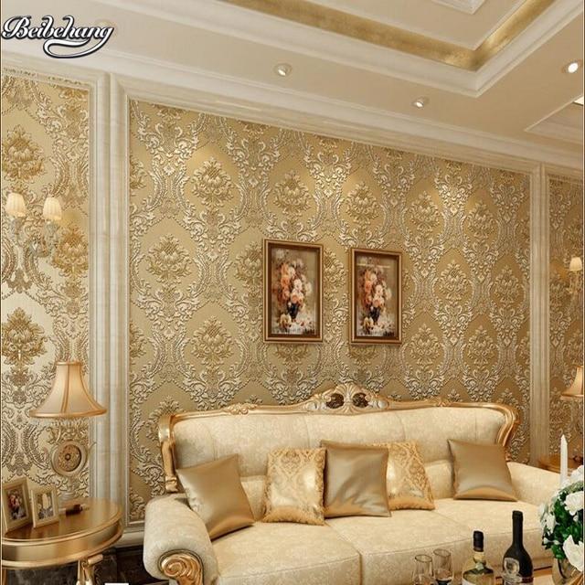 Beibehang Classic 792801 Non Woven Warm Living Room Wallpaper Plain