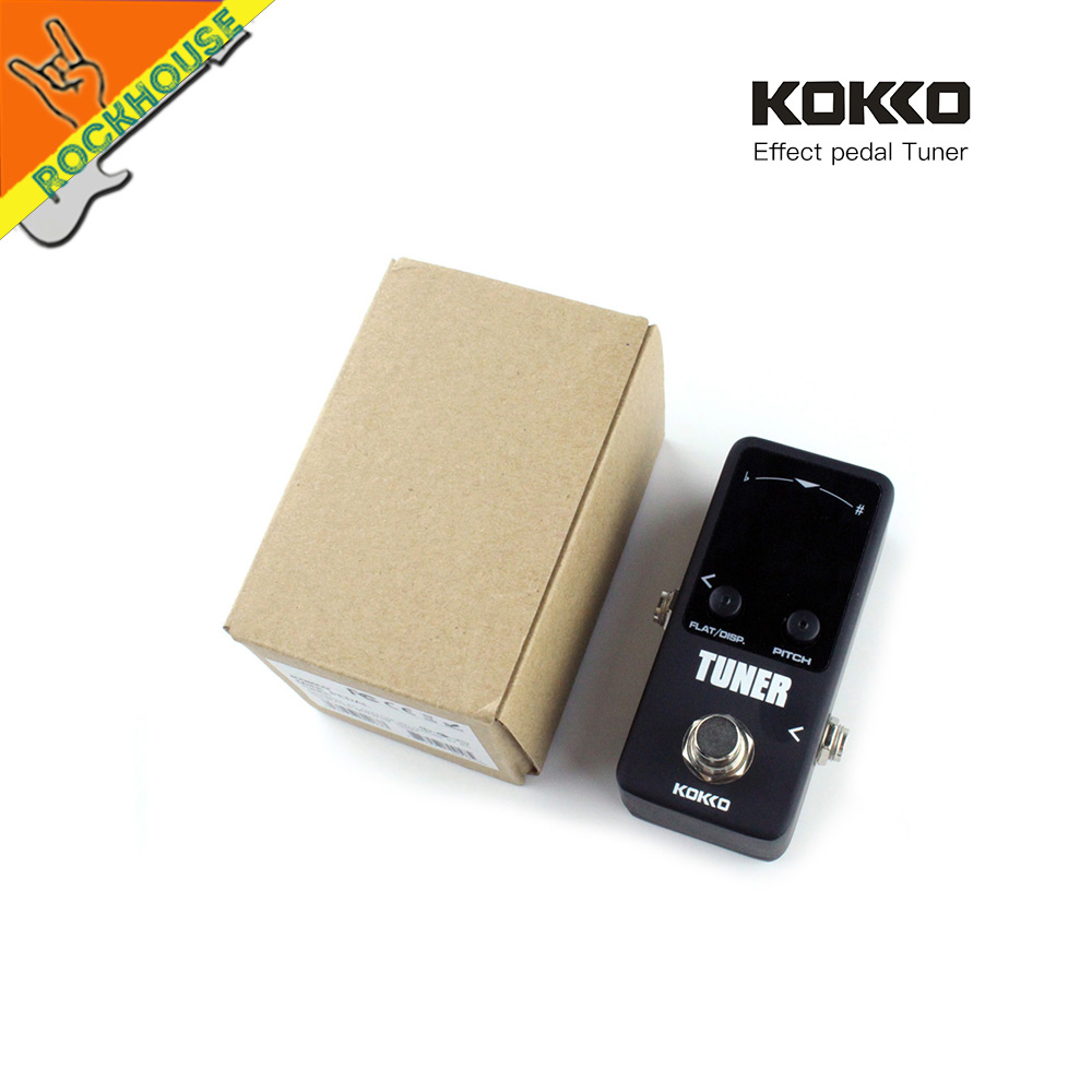 KOKKO Mini Tuner Pedal Tuner Guitar Bass Effects Pedal with Pitch Calibration and Flat Tuning Dual Display models True Bypass nematode parasite infesting lizard and their physiological effects
