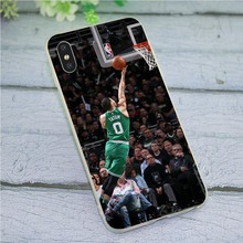 Soft TPU Silicone Cover for iPhone 5 Jayson Tatum Basketball Phone Case 5S SE 6 6S Plus 7 8 X Xs Max XR Backshell