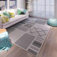 Оригинальный дизайн мягкие скандинавском стиле стильные ковры для гостиной детская спальня ковры S дома пол двери коврики области s