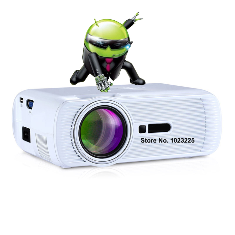Android 3d led mini portable pico pocket micro projector for Micro mini projector