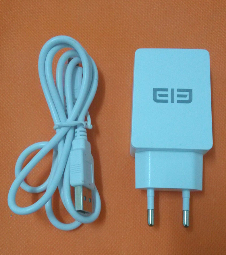 Free shipping Original 2.0A Fast Travel Charger EU Plug Adapter+ USB Cable for Elephone P8000 5.5 MTK6753 Octa Core 4G LTE FHD
