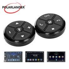 Универсальный Автомобильный руль управления ключ музыка беспроводной DVD Радио дистанционное управление gps навигация для стерео плеер кнопки черный