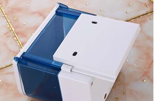 Настенный инфракрасный датчик пластиковый ABS автоматический дозатор мыла KF391 - 5