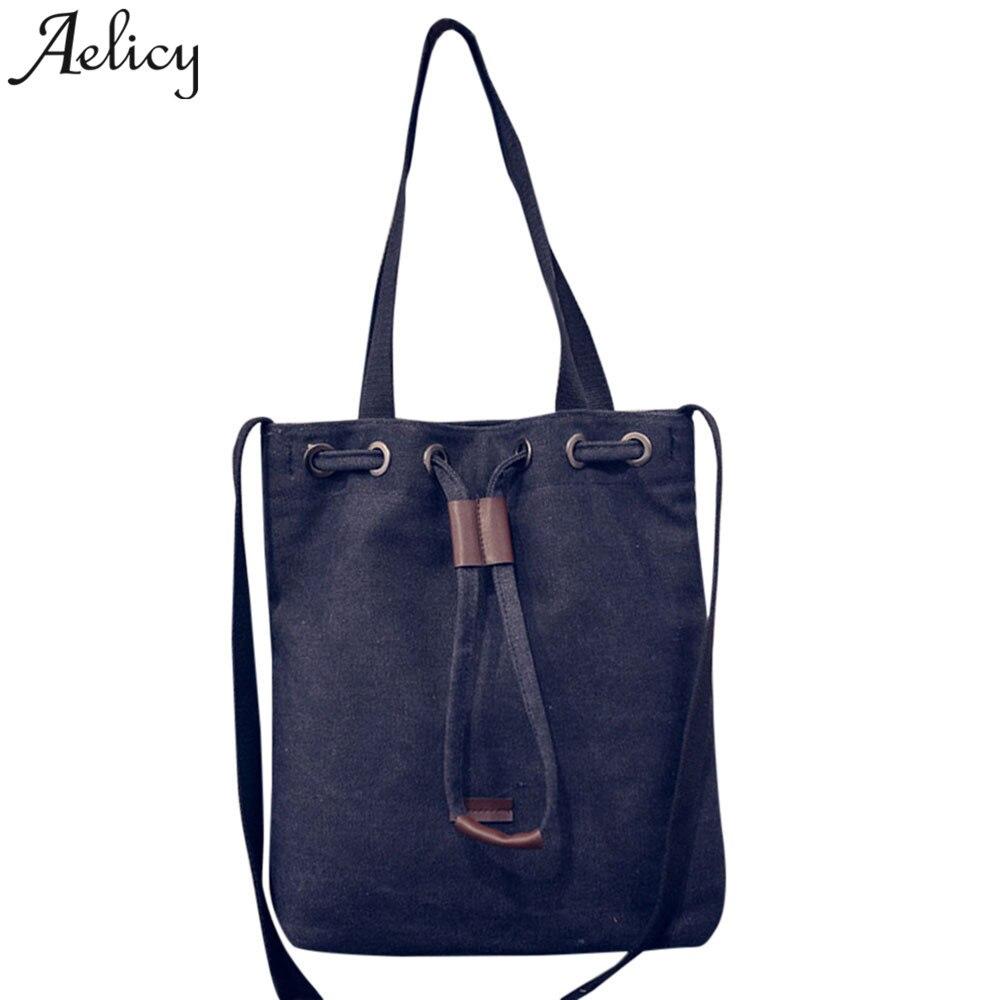 Handbag @@ Canvas Shoulder Bag Satchel Tote Bolsa Feminina Mujer Ladies Hand Bags