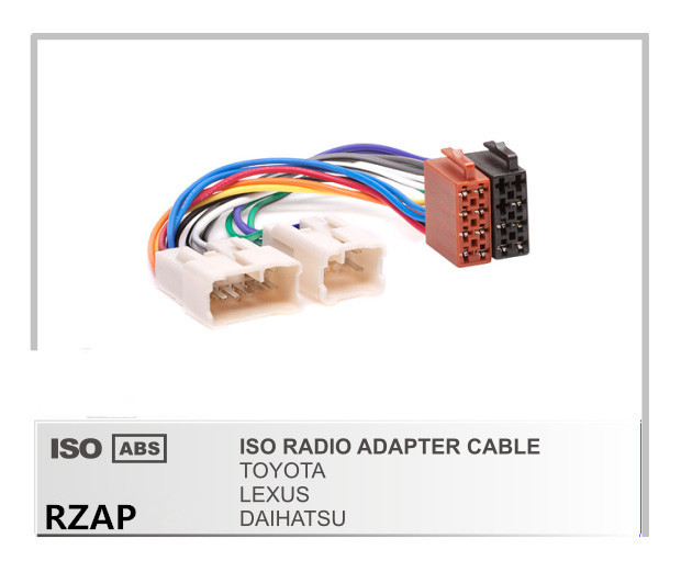 online buy whole toyota wiring harness from toyota car radio mini iso adapter wiring harness connector for toyota corolla rav4 highlander camry 4