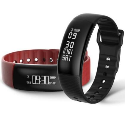 New Smart band A69 Smart bracelet heart rate blood pressure watches pedometer fitness tracker call facebook