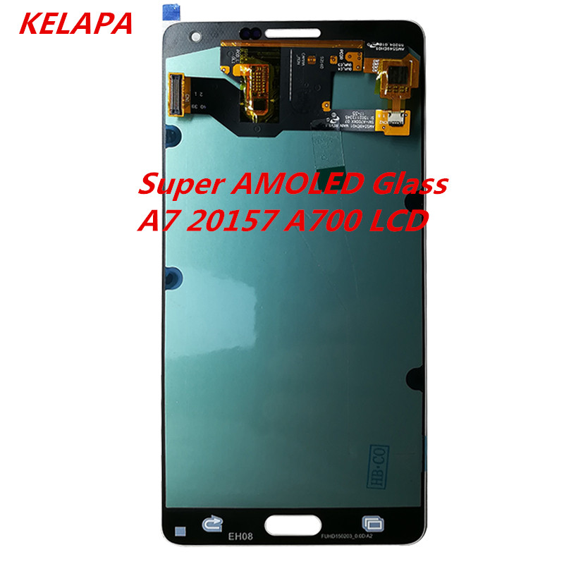 100% AMOLED LCD Compatible For Samsung Galaxy A7 2015 A700 A7000 A700H A700F A700FD Touch Screen Digitizer Assembly100% AMOLED LCD Compatible For Samsung Galaxy A7 2015 A700 A7000 A700H A700F A700FD Touch Screen Digitizer Assembly