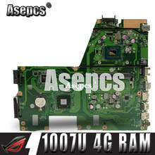 Asepcs X551CA Laptop motherboard for ASUS X551CA X551CAP X551C X551 F551C F551CA Test original mainboard 1007U 4G RAM(China)