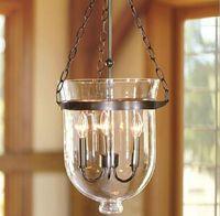 Creative Glass Pendant Lights Candle Ceiling Lamp Pendant Light Fixture Glass Fixtures bucket Hanging Lamp Art Deco RH home