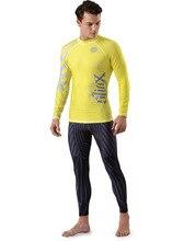 SLINX Unisex Sport Anti-UV Pullover Shirt Elastic Wetsuit Seaside Clothing Jacket Elastic Surf Windsurf Swimwear Rashguard Shirt