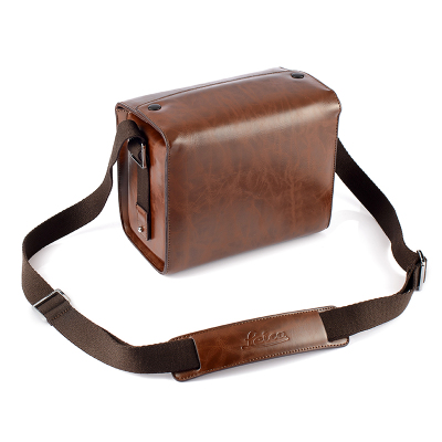 Couleur café de luxe appareil photo numérique PU étui en cuir sac pour Canon eos-m100 M50 M10 M6 M5 M3 pour EOS-m