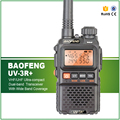 Frete Grátis Baofeng UV-3R além disso 136-174 MHZ/400-470 MHZ Rádio Amador VHF UHF Dual Band Baofeng BF-uv3r Plus