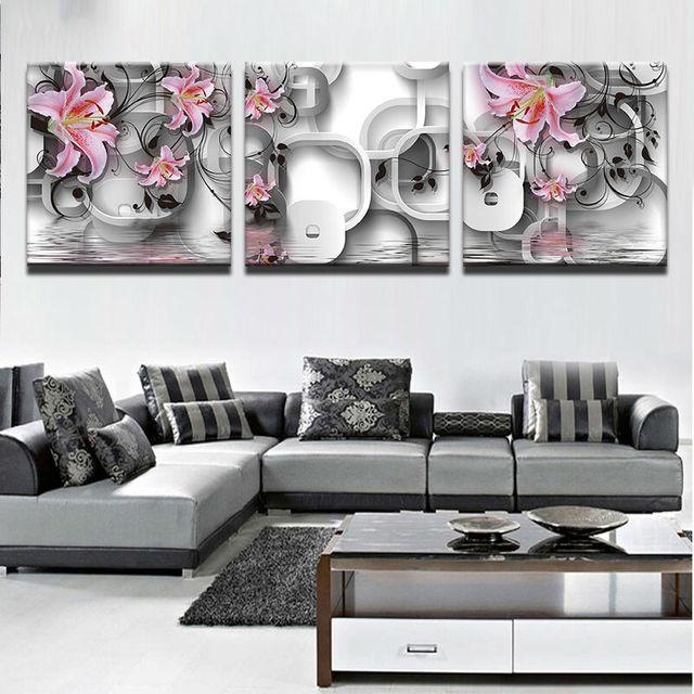 modern decorative canvas art prints modern frames for paintings 3