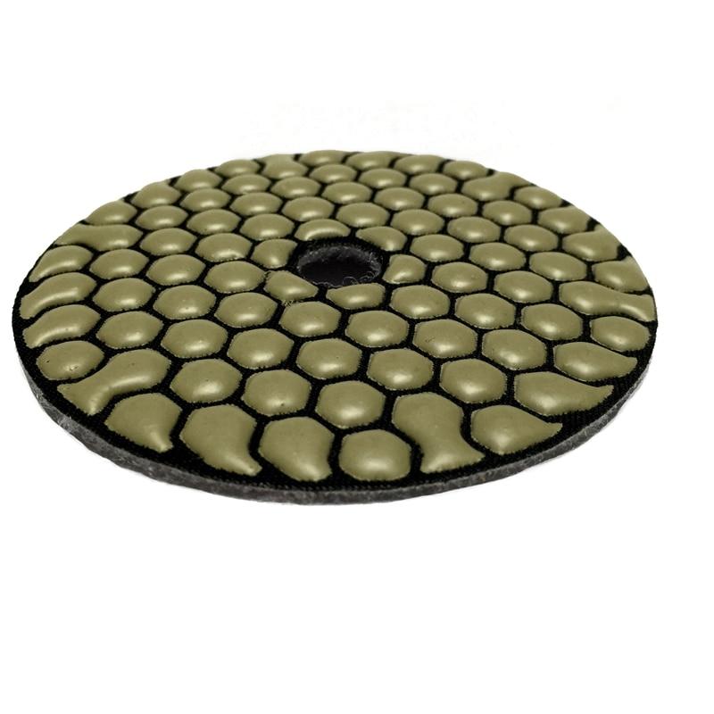 RIJILEI 7 pezzi / lottp 4 pollici / 100mm Pastiglie per lucidatura a - Utensili elettrici - Fotografia 3