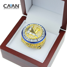 Official High Quality US Businessman hot sale 2017 Golden State Warriors DURANT and CURRY Basketball World Championship Ring