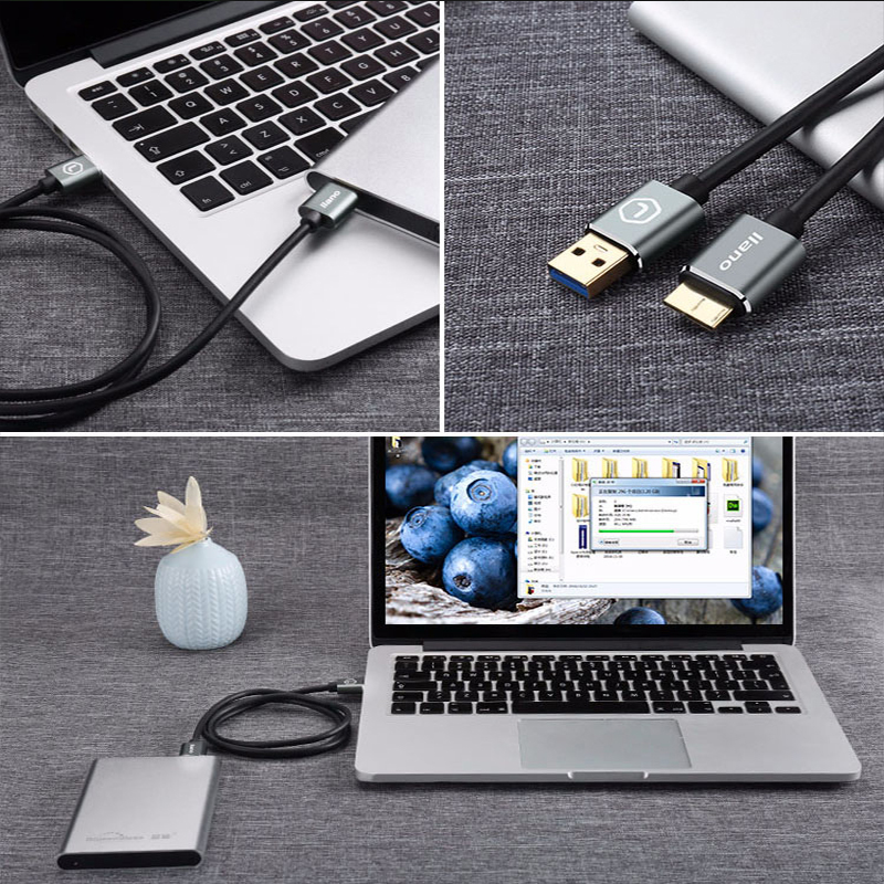 Image 5 - Llano USB 3,0 тип A Micro B USB3.0 кабель синхронизации данных Шнур для внешнего жесткого диска HDD samsung S5 USB C кабель жесткого диска