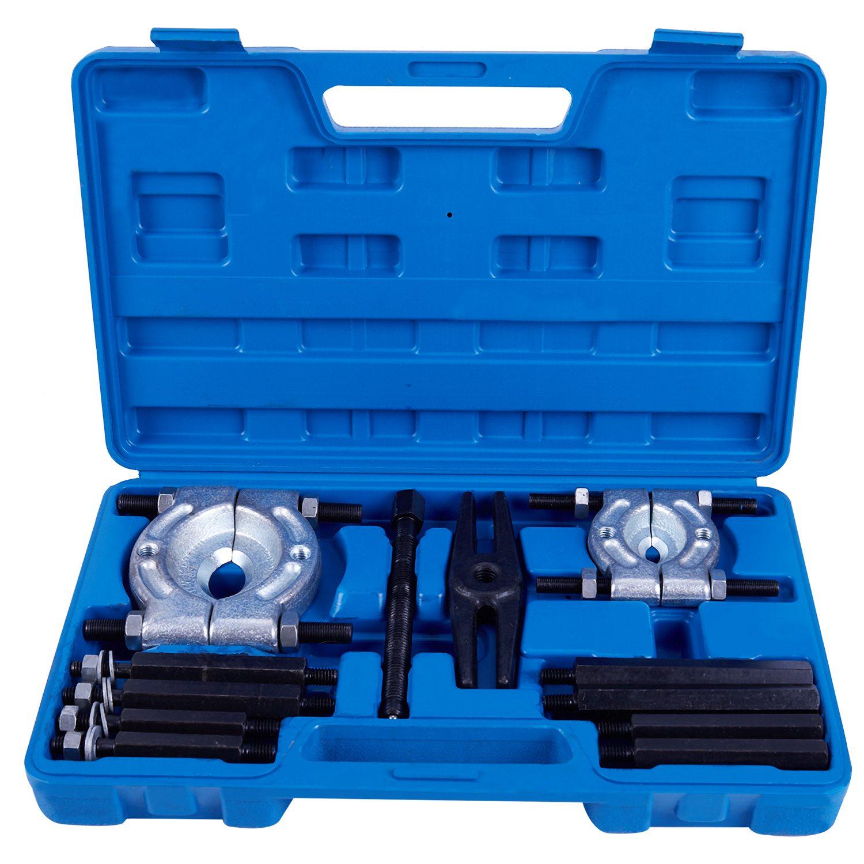 Nouveau séparateur de roue de mouche d'extracteur de vitesse de séparateur de roulement de 12 pièces réglé avec la trousse à outils de boîte